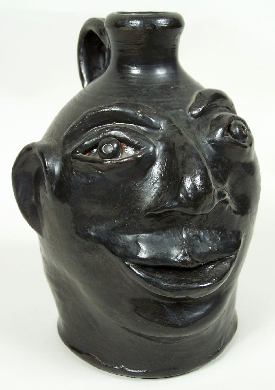 Southern face jug from the John Gordon Collection of NYC (lot#60)