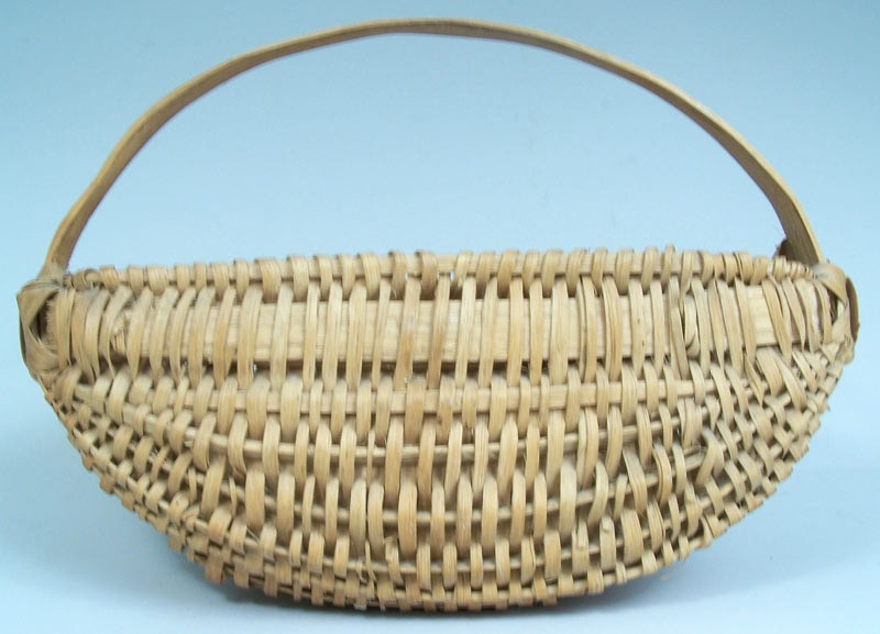 Appalachian hanging basket, half round melon form