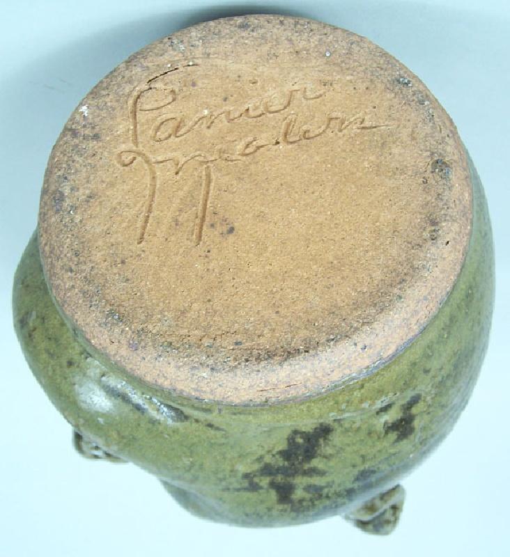 Southern folk pottery – Lanier Meaders face jug (lot#219)