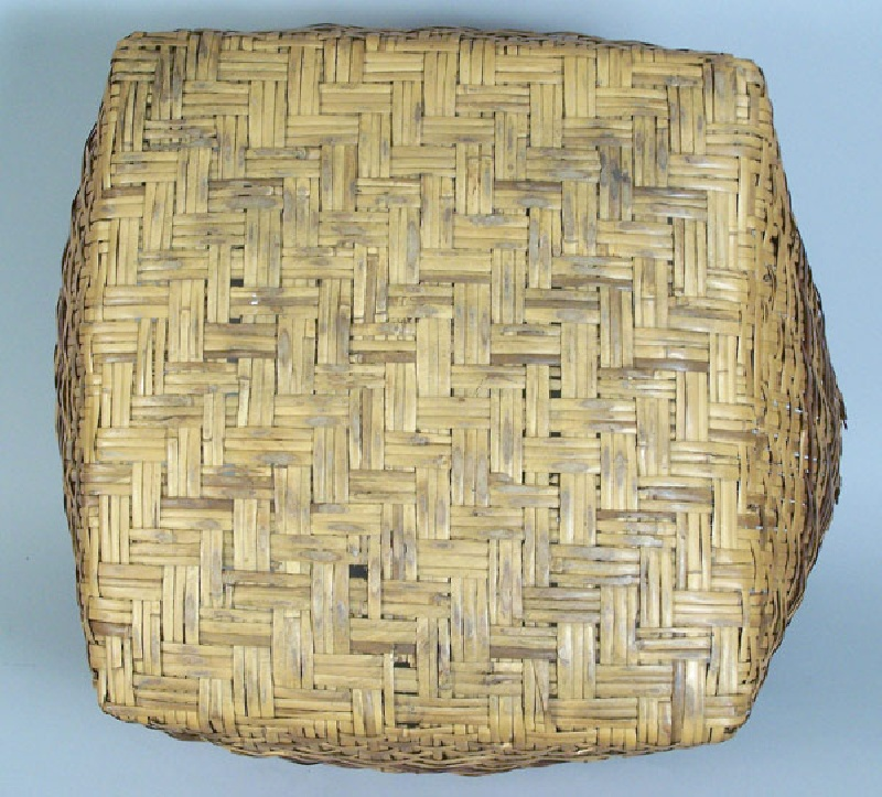 North Caroline large Cherokee river cane basket (lot#54)