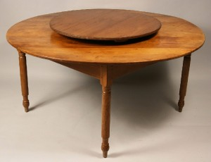 East Tennessee lazy Susan table, Jefferson Co. - Image 2