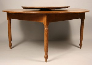 East Tennessee lazy Susan table, Jefferson Co. - Image 3