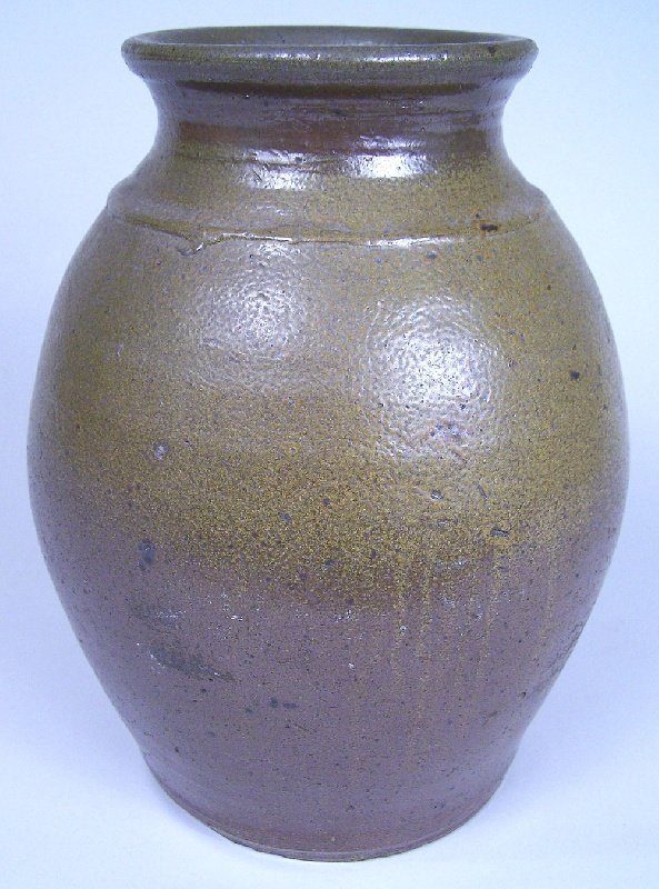 Middle Tennessee or Kentucky early stoneware jar (lot#141)