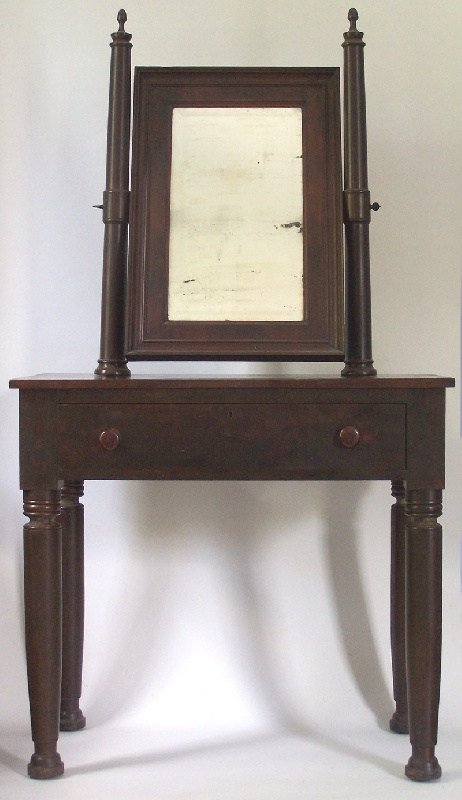 Tennessee classical dressing table with mirror