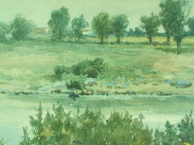 Howard M. Nesmith Pastoral Landscape