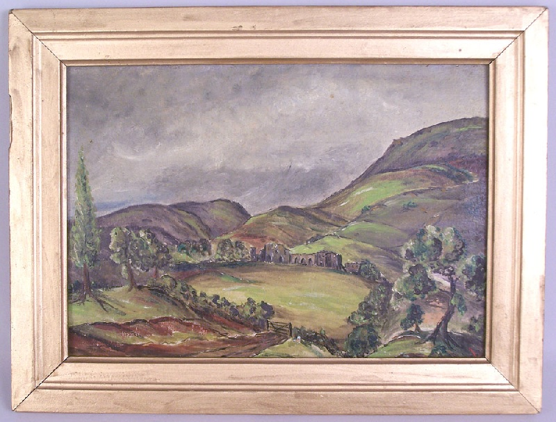 North Africa landscape, Casablanca, WWII (lot#203)