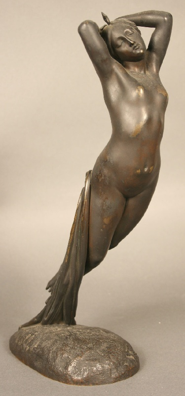 French bronze by Joseph Michel Ange Pollet (French 1815-1870)