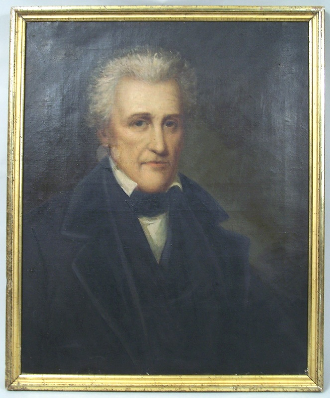 Early period portrait of President Andrew Jackson (#29)