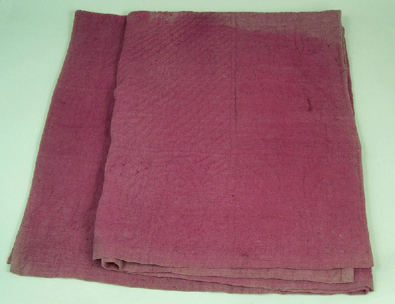 Virginia linsey wool bed cover (lot#149)