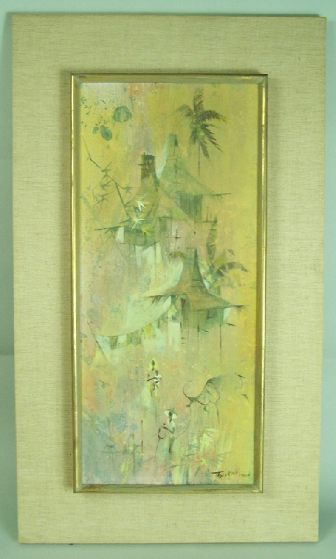 Romeo Tabuena (b. 1921) painting, signed and dated (lot#265)