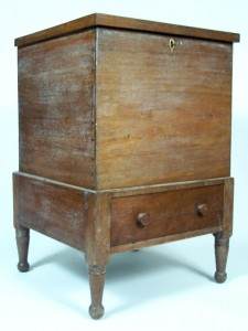Tennessee Sugar Chest, attributed to Davidson County