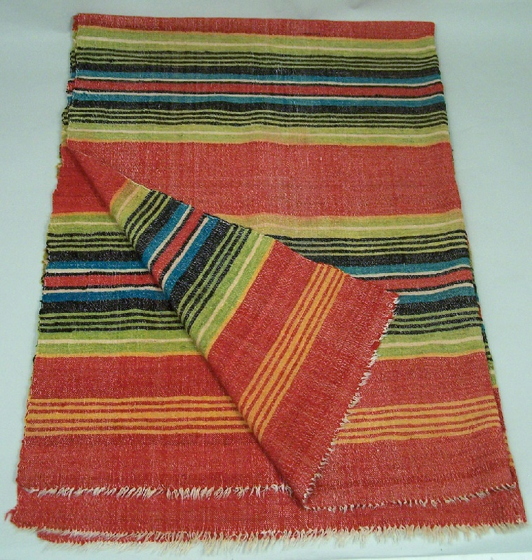 Tennessee striped wool blanket (lot#147)
