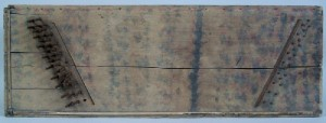 Tennessee paint decorated dulcimer, circa 1840 (lot#150) - Image 2