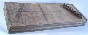 Tennessee paint decorated dulcimer, circa 1840 (lot#150) - Image 1
