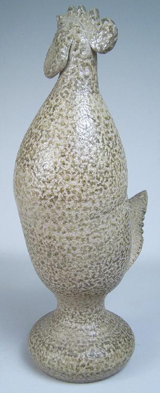 Turn & Burn pottery rooster North Carolina