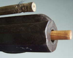 North Carolina long rifle, marked TFM for Thomas Fletcher Meritt (lot#2) - Image 9