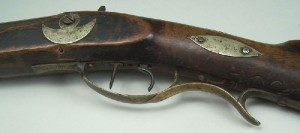 North Carolina long rifle, marked TFM for Thomas Fletcher Meritt (lot#2) - Image 5