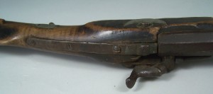 North Carolina long rifle, marked TFM for Thomas Fletcher Meritt (lot#2) - Image 7