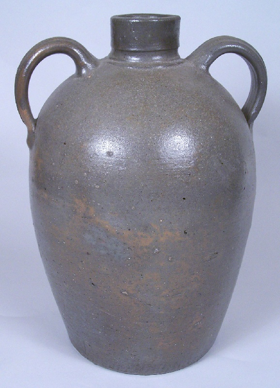 Southwest Virginia or East Tennessee large stoneware jar (lot#78)